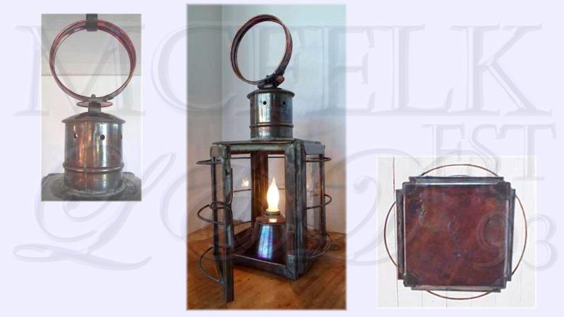 1780 Whale Oil Ships Lantern