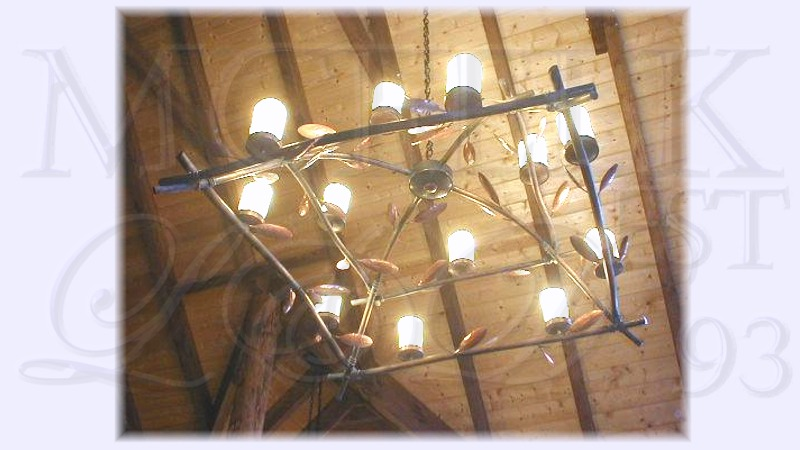 Specialty 22 Ft. Ceiling Chandelier