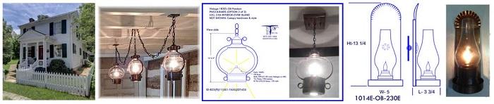 Custom ceiling pendants wall sconces private Fincastle Va