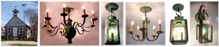 Custom Chandeliers pendants wall lanterns Dixie Classic Fairgrounds