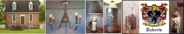 Custom ceiling chandlers portable table lantern lamps GC Prim Jr