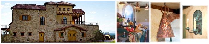 Custom pendants, sconces at the Raffaldini-Vineyards-Winery