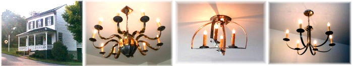 Custom-chandeliers-produced-all-Tailors-Lodging-Bed-Breakfast-Abington-Va.
