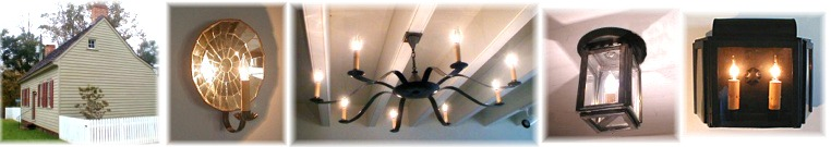 Custom –chandeliers- sconces- wall lanterns- for-bethania-visitors- center